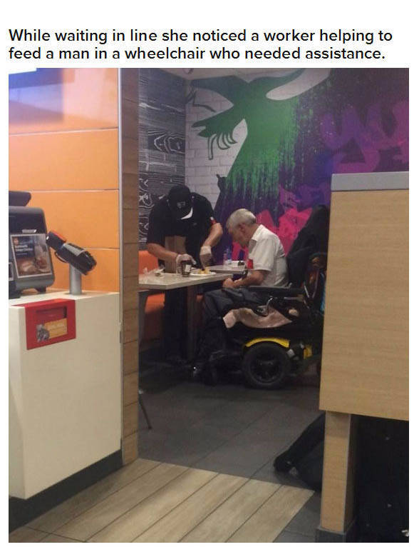 Kind McDonald's Employee Shows a Level of Compassion That Is Rare to See