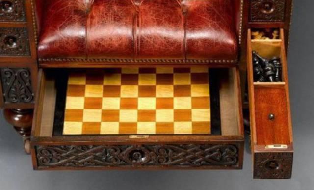 This Chair Is Full of Sneaky Hidden Treasures