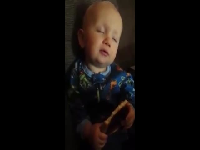 This Baby Struggles to Decide If It Is Tired or Hungry