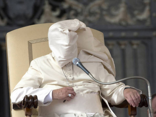 These Popes Are Really Not Winning in the Wind