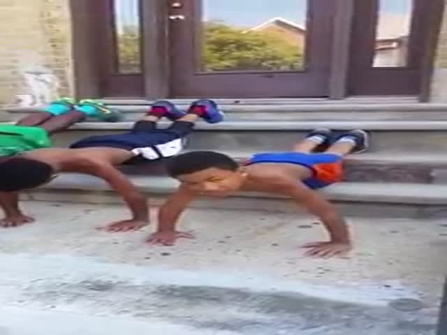 Little Jamaican Will Inspire You to Get Off Your Ass And Exercise