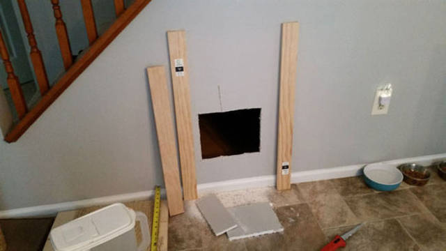 Creative Pet Owner Builds His Dog a Special Room Under the Stairs