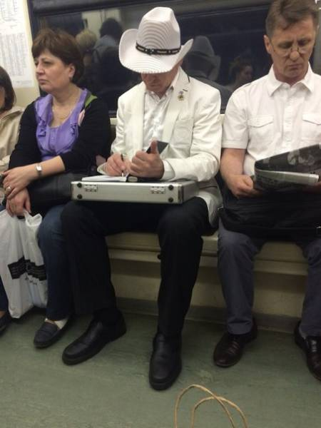 The Moscow Metro Is a World of Its Own