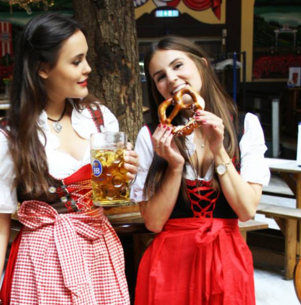 Girls in Costume Are Just One of the Reasons Why We Love Oktoberfest