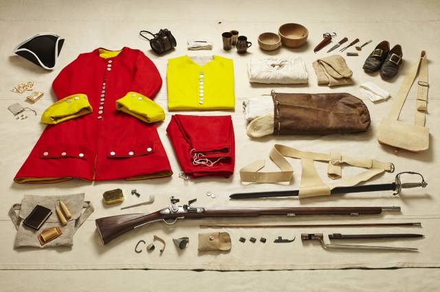 Photographer Documents British Soldier Kits from over a Thousand Years