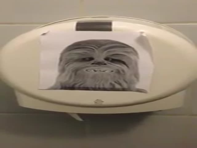 This Toilet Roll Dispenser Sounds Exactly Like A Wookiee