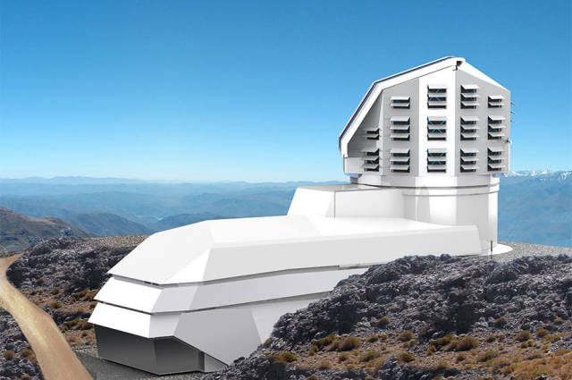 This Massive Mountain Top Camera Is Going to be the Biggest in the World