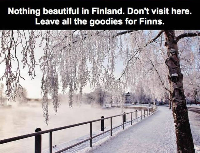 Finnish People Reveal the Main Reasons Why You Shouldn