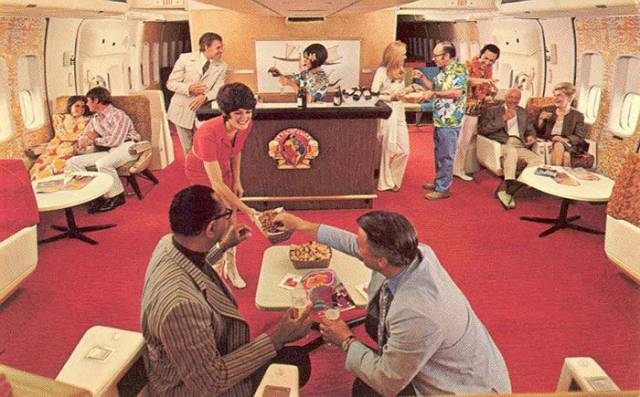 A Revealing Glance into What a First Class Cabin Really Looked Like in the 50s