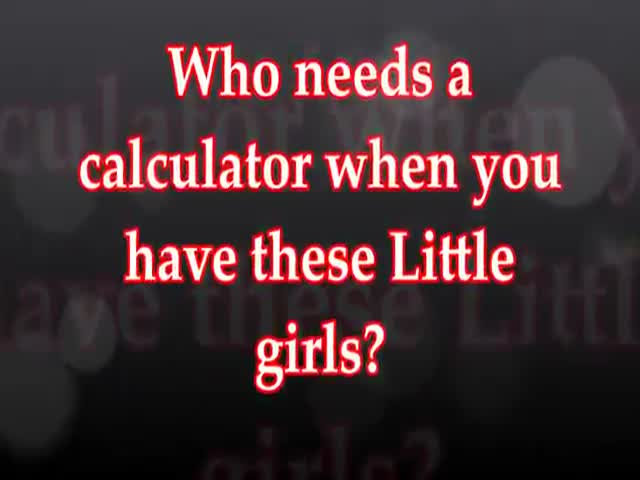 This Girls Can Add Up Almost Any Sum in Their Heads