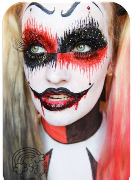 Realistic Halloween Makeup That Is Totally Terrifying (19 pics + 6 ...