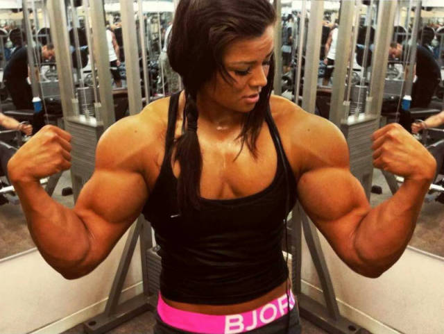 Bodybuilding Makes Women Look Like Men