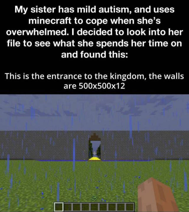This Autistic Girl Is a Minecraft Queen