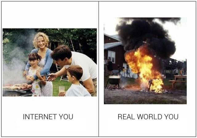 The Real World Is Really Awful Compared to the Internet