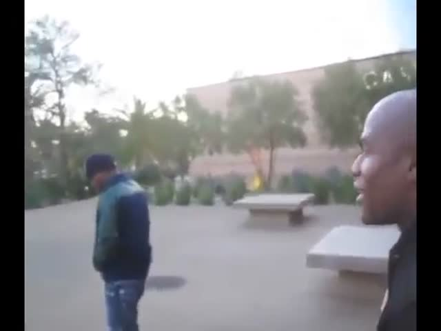 Floyd Mayweather Has No Respect of the Disabled