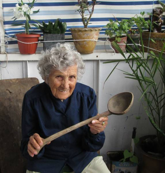 Sweet 94 Year Old Lady Models Items for Sale on eBay