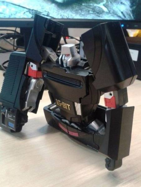 This Transforming Sega Mega Drive Is the Coolest Thing You Will See Today