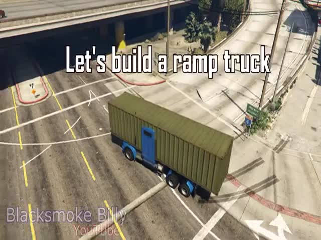 This Ramp Truck GTA 5 Mod Is Totally Kick Ass