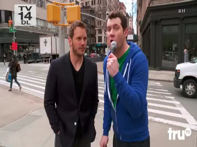 New Yorkers Have No Idea Who Chris Pratt Even Is