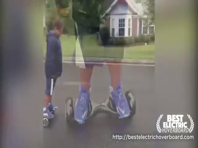 People Who Make Electric Hoverboards Look Really Difficult