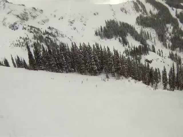 This Is Why It's Always Better to Use Your Own Trail when Skiing