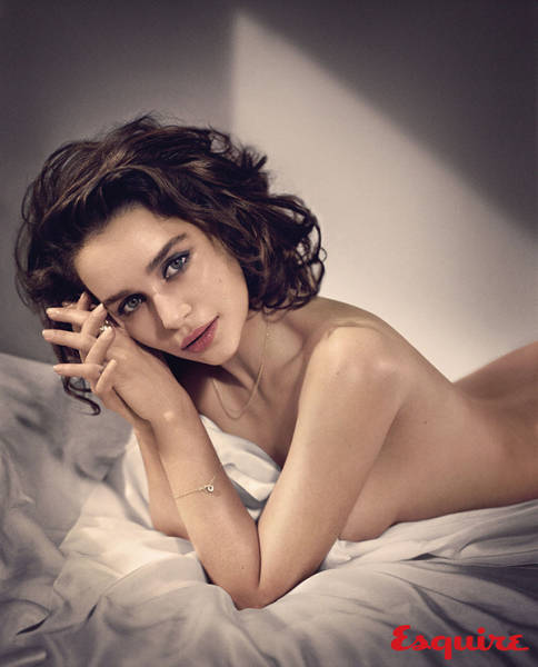 Stunning TV Star Emilia Clarke Is Named Esquire's Sexiest Woman Alive for 2015