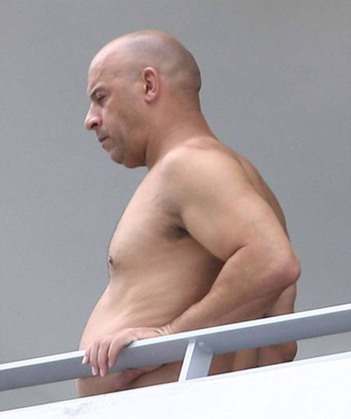 "Vin Diesel Hits Back against Body Shamers Who Said He Has a ""Dad Bod"""