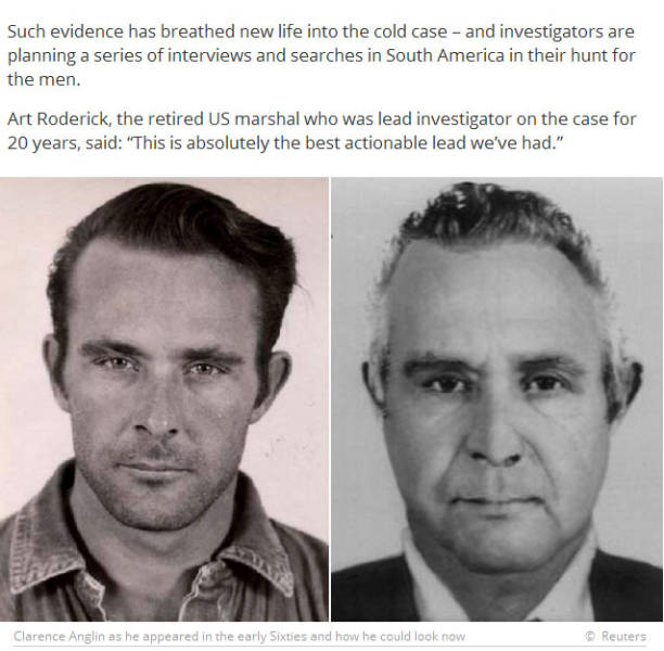 These Escaped Alcatraz Prisoners Could Still be Alive Today