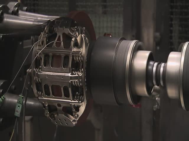 Formula One Car Brakes Get Put through Some Intense Testing