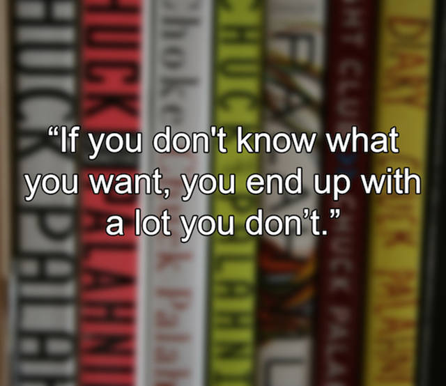 Chuck Palahniuk Shares His Words of Wisdom in These Inspiring Quotes
