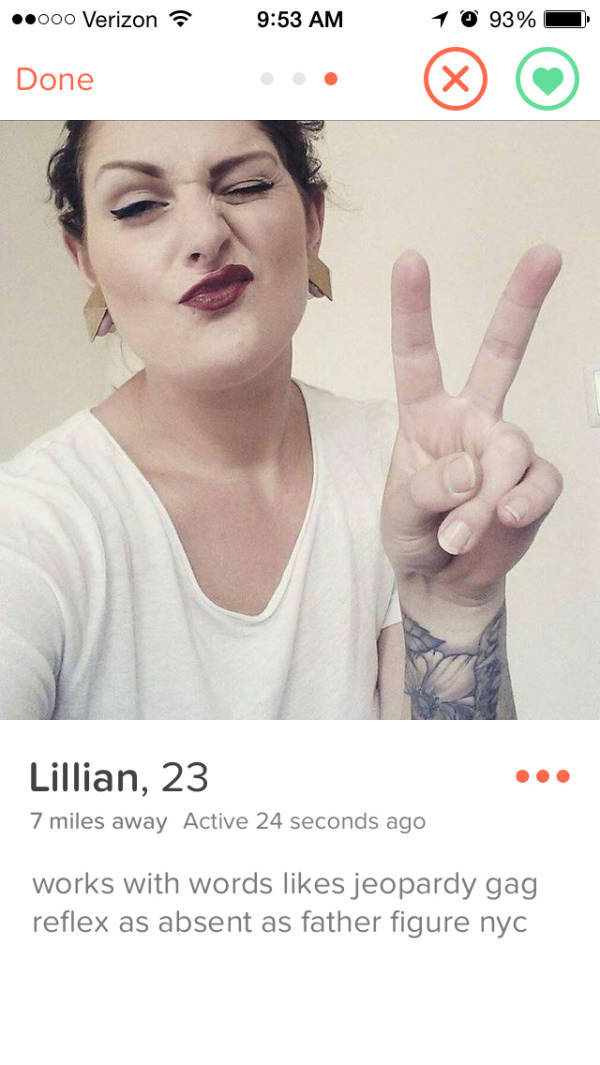 Tinder Profiles That Are Too Weird for Words