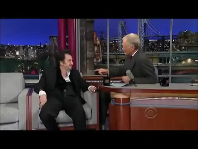 Kevin Spacey impersonates Al Pacino in front of Al Pacino