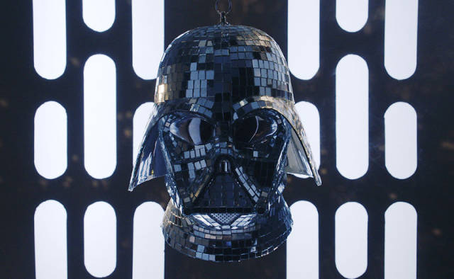 Darth Vader Gets into the Disco Spirit