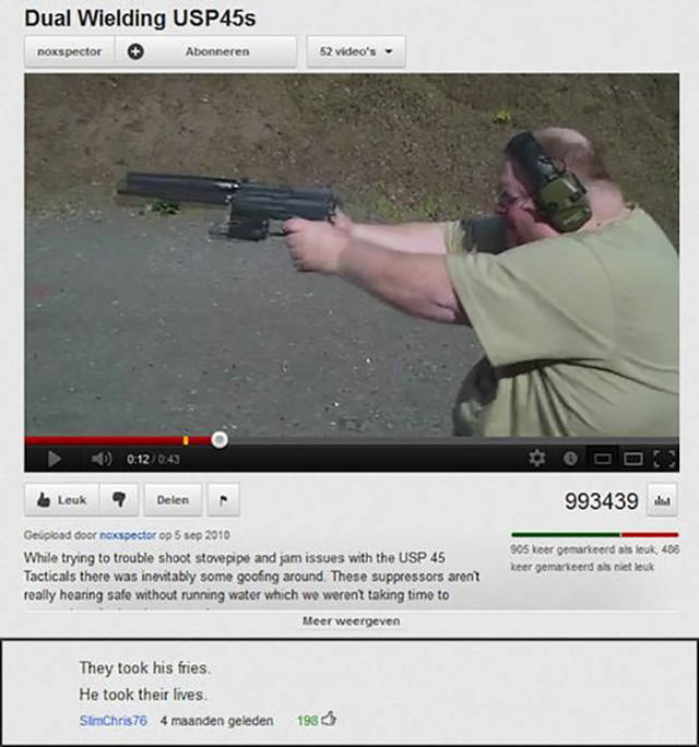 Witty YouTube Comments That Capture the Moment to a Tee