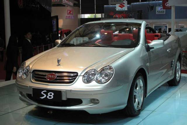 Chinese Car Knockoffs That Are Almost Identical to the Real Thing