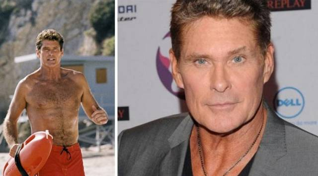 "Comparison Snaps of the ""Baywatch"" Cast Then and Now"