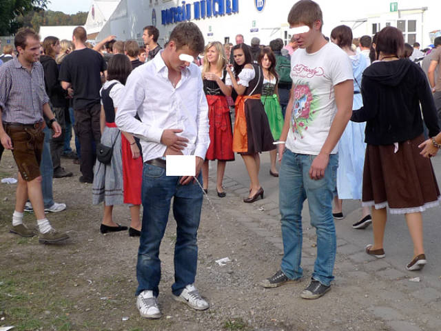 People Who Chose Not to Give at F#uck at Oktoberfest