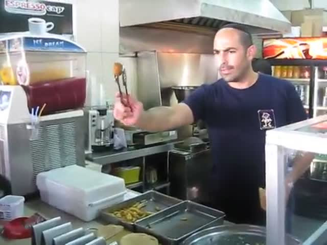 This Guy Is Truly the Falafel King