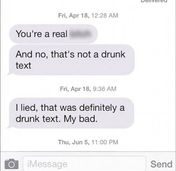 This Is Why Drunk Texting Is a Really Bad Idea