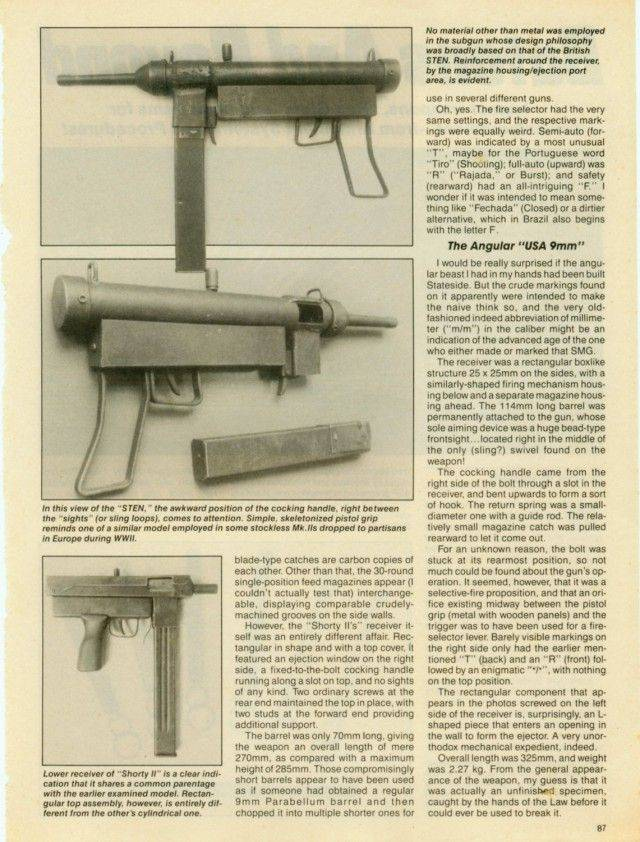 Impressive Homemade Guns That Can Definitely Do Some Damage
