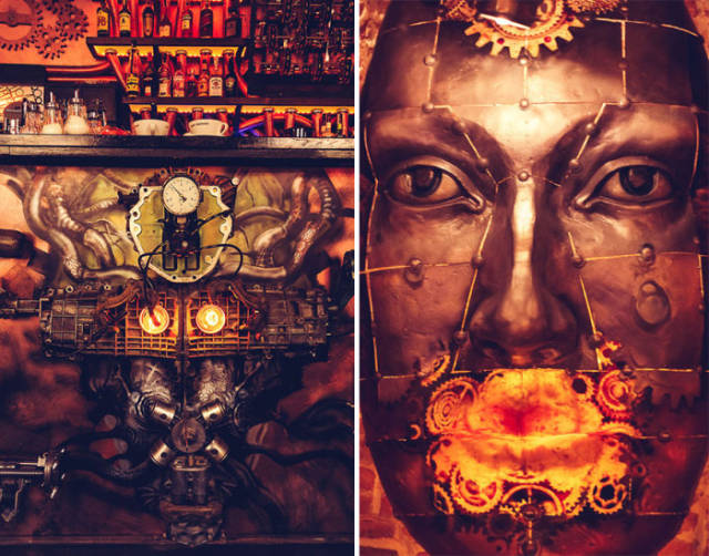 Kick Ass Kinetic Steampunk Bar Opens in Romania