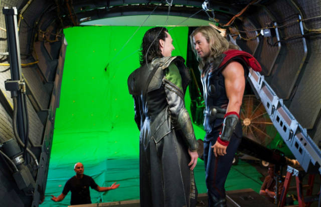 The Making of Big Movies Looks Completely Different Behind-the-scenes