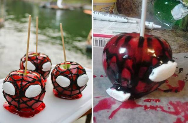 Times When Pinterest Gave You False Hope for Making Your Own Awesome Halloween Treats