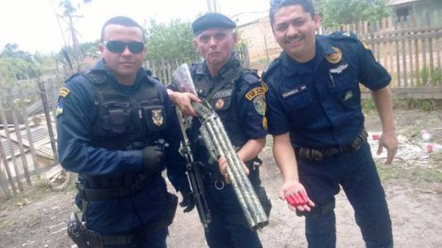 Police Confiscate a Weapon That Is Like a Shotgun on Steroids