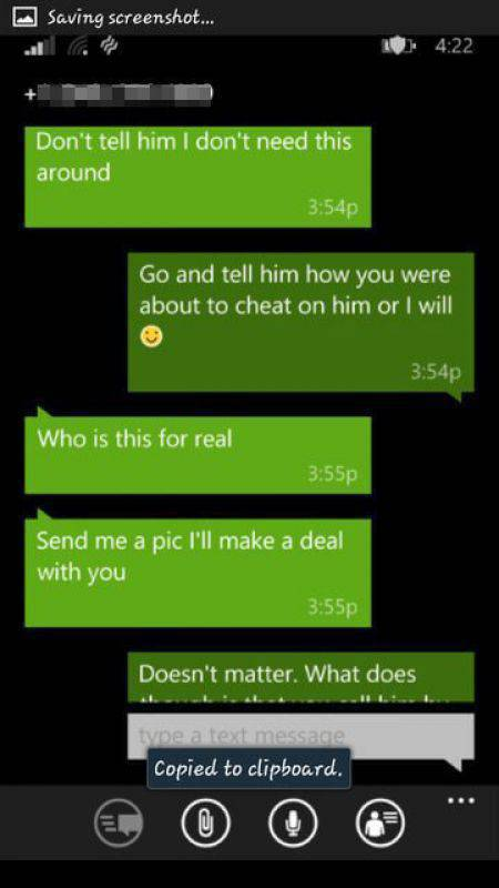 This Cheating Girlfriend Doesn't Know When to Quit