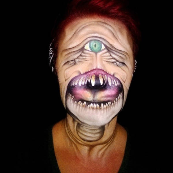 This Makeup Artist Is a Master of Her Craft and the Results are So Creepy