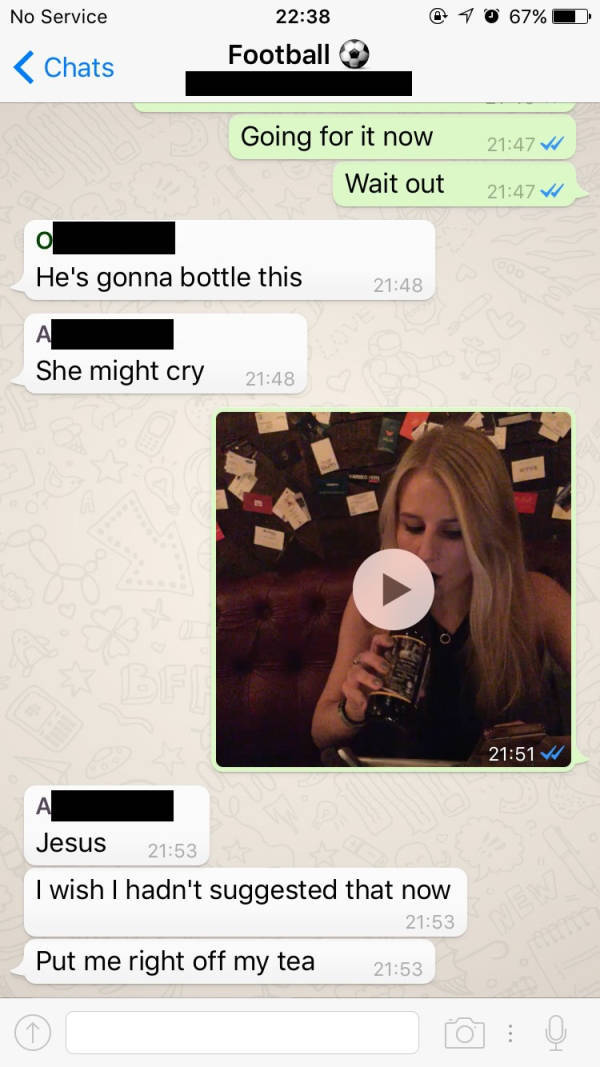 Dude Finds an Unusual Way to Spice Up His Awkward First Date
