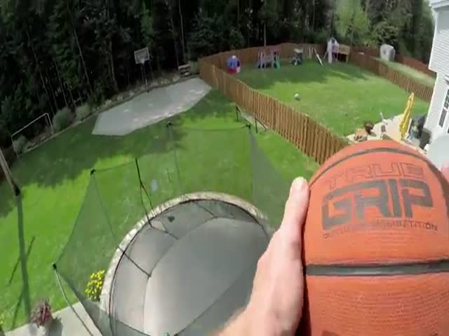 This Dude Is the Basketball Trick Shot King