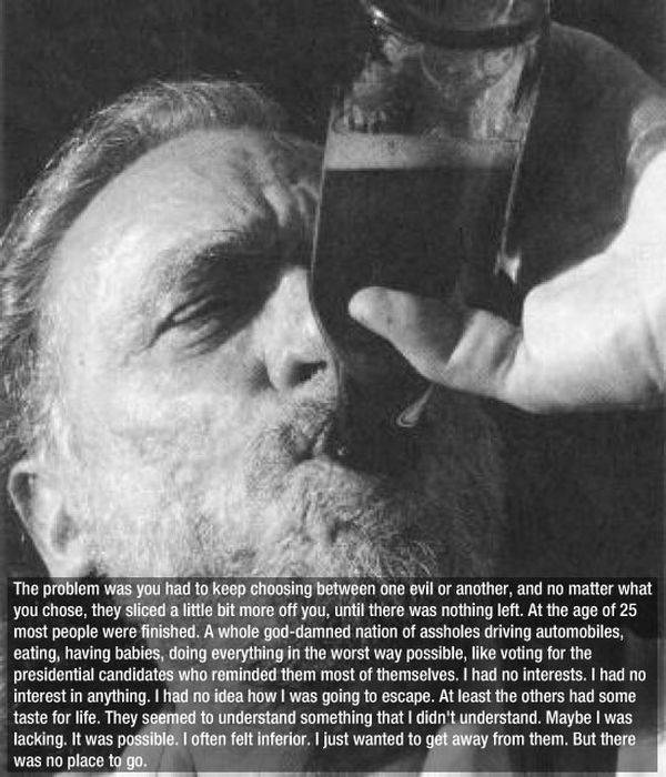 A Few Wise Words from Charles Bukowski