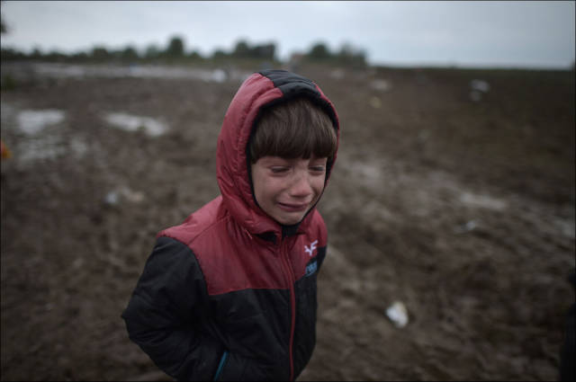 Migrants March on Mass through the Balkans in Search of a Better Life